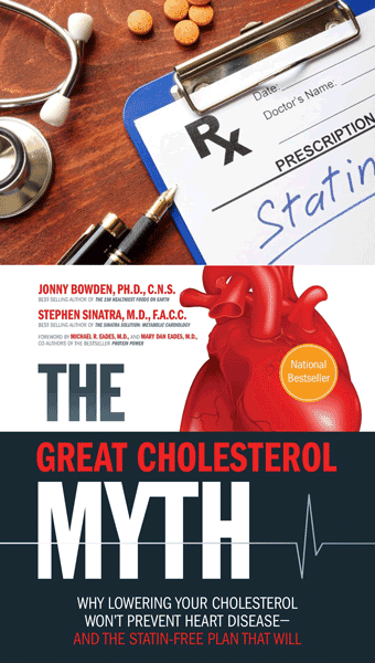 The cholesterol myth has been promoted to support the sales of statin drugs