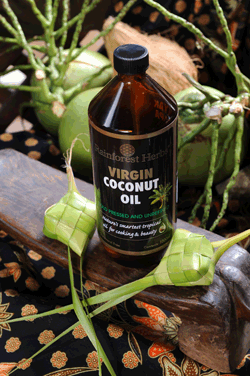 Virgin Coconut Oil is the traditional cooking oil in Malaysia
