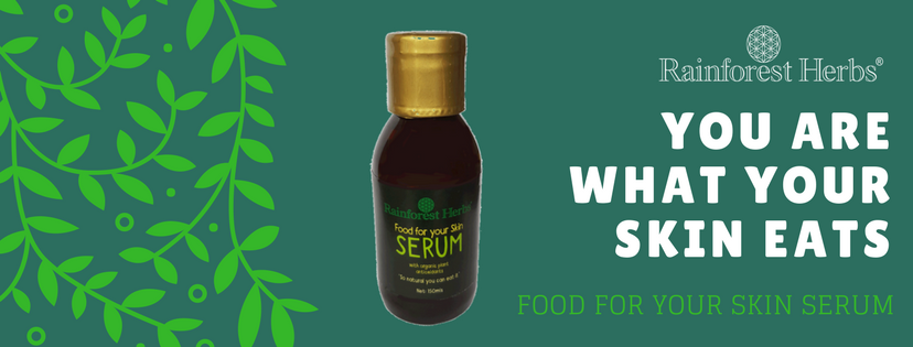 Food for your skin Serum from Rainforest Herbs