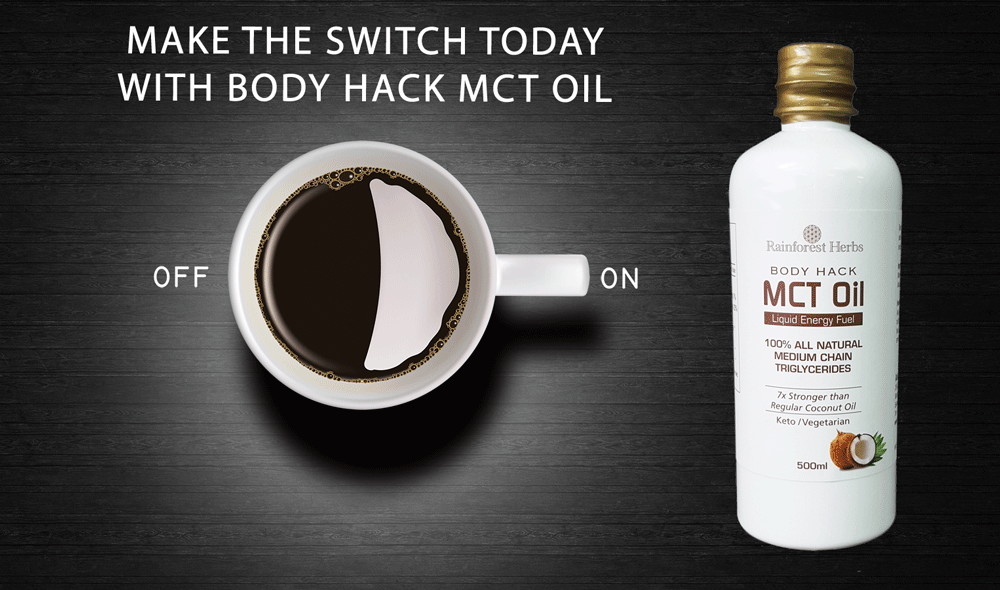 Body Hack Coconut MCT Oil 500ml