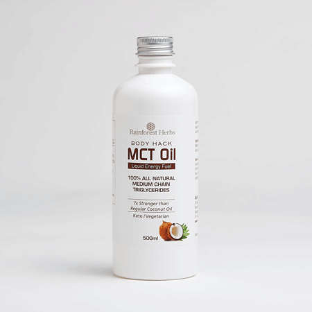 Rainforest Herbs Coconut Source MCT Oil 500ml available in Malaysia