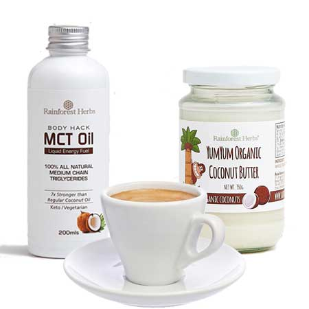 Bulletproof Coffee MCT Oil Starter Pack @ Rainforest Herbs Malaysia