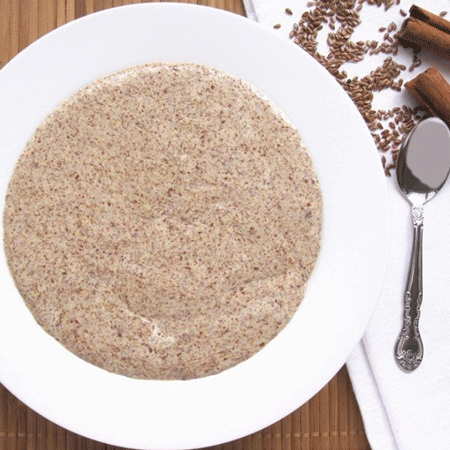Coconut Flour Flaxseed Porridge