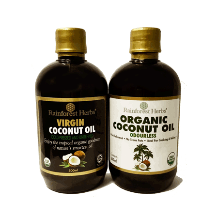 Organic Coconut Oil Promotion - Rainforest Herbs