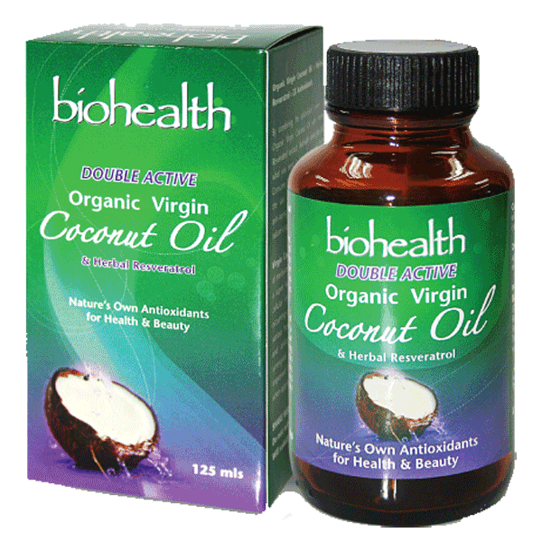 Double Active Virgin Coconut Oil - Rainforest Herbs