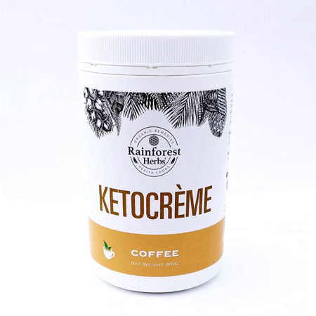 KetoCrème MCT Instant Coffee Powder from Rainforest Herbs Malaysia