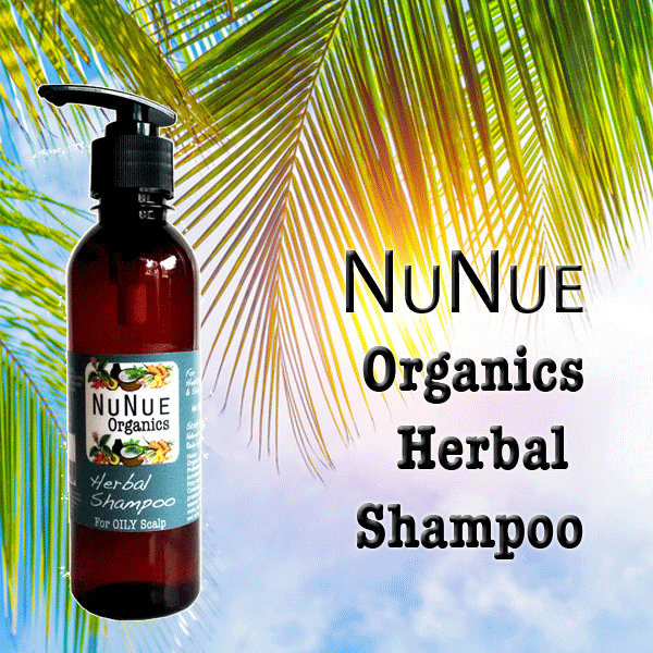 Nunue Organics Herbal Shampoo to prevent hair loss
