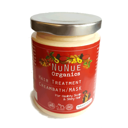 NuNue Organics Hair Mask - Rainforest Herbs
