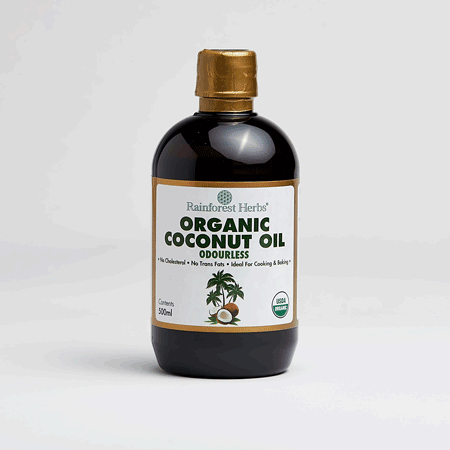 Organic Odourless Coconut Oil 500ml