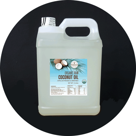 Organic Raw Coconut Oil 5 Litres