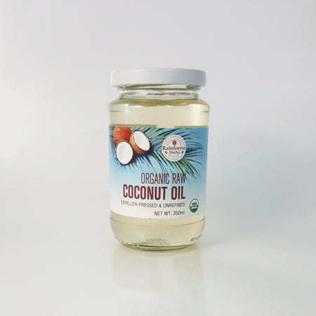 Organic Raw Coconut Oil 350ml
