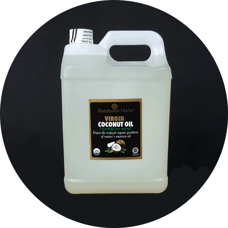 Organic Extra Virgin Coconut Oil 5 litres - Rainforest Herbs