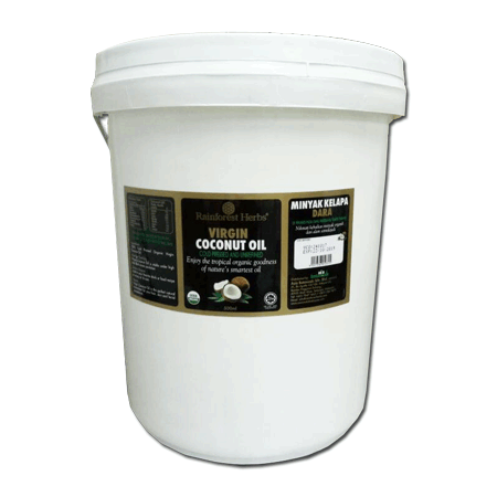 Organic Extra Virgin Coconut Oil 20 litres - Rainforest Herbs