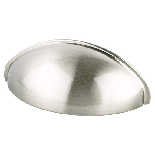 Berenson B-0963-1BPN Advantage Plus 3 Brushed Nickel Cup Pull - KnobDepot.com