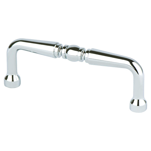 Berenson B-0971-126 Advantage Plus 2 Polished Chrome Standard Pull - KnobDepot.com