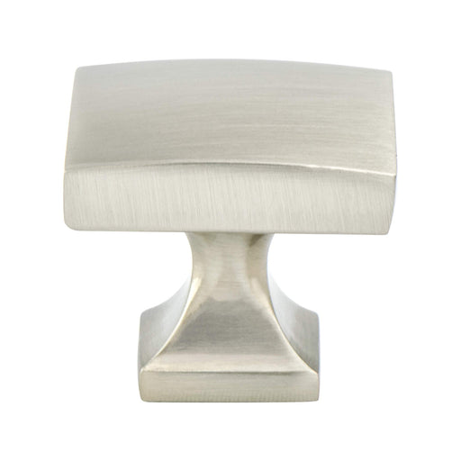 Berenson B-1200-1BPN Epoch Edge Brushed Nickel Rectangular Knob - KnobDepot.com
