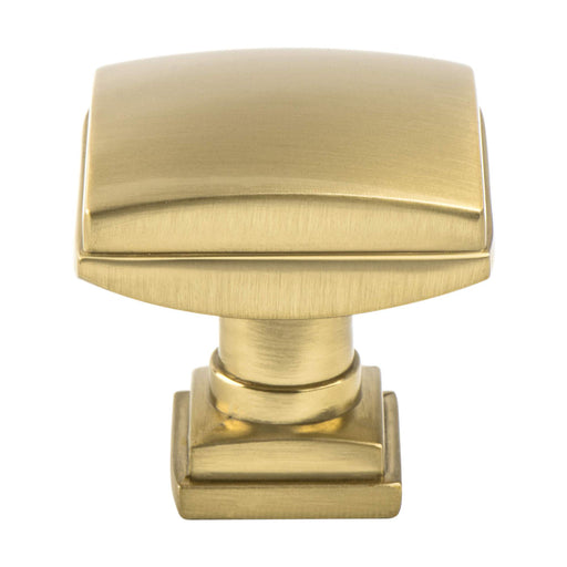 Berenson B-1276-1MDB Tailored Traditional Modern Bronze Square Knob - Knob Depot