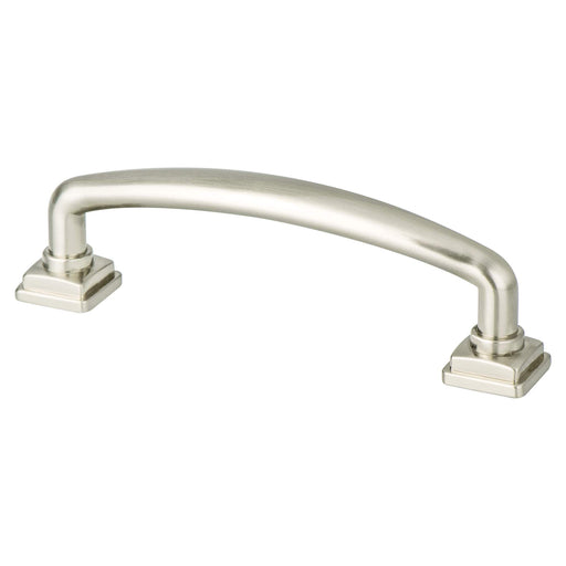 Berenson B-1278-1BPN Tailored Traditional Brushed Nickel Standard Pull - KnobDepot.com
