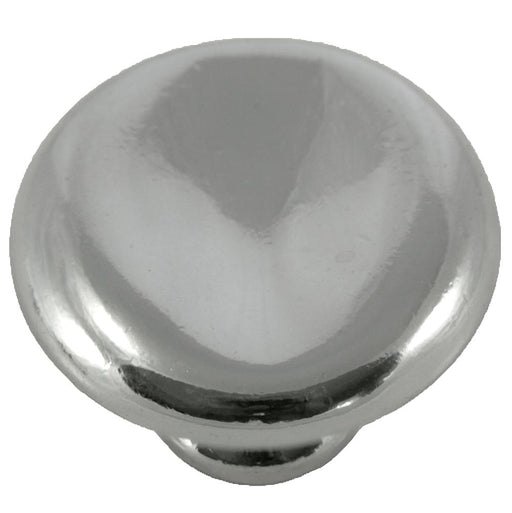 MNG Hardware M-16414 Potato Polished Nickel Round Knob - Knob Depot