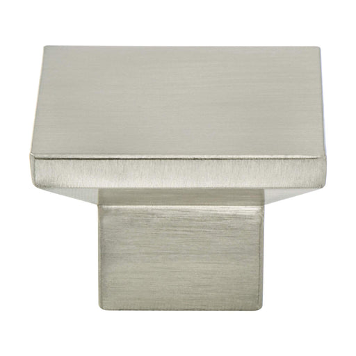 Berenson B-2095-4BPN Elevate Brushed Nickel Square Knob - Knob Depot