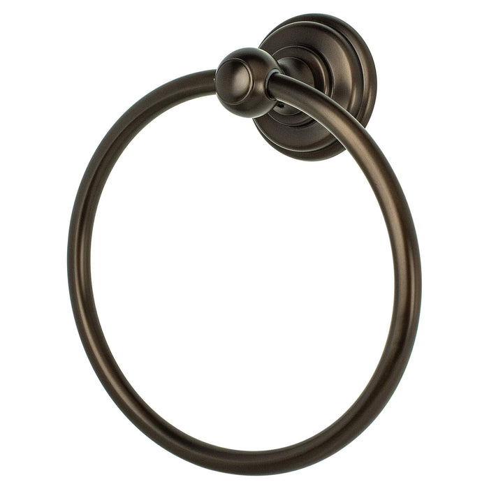 R. Christensen RC-2111US10B Simple Serenity - Bathroom Oil Rubbed Bronze Towel Ring - Knob Depot