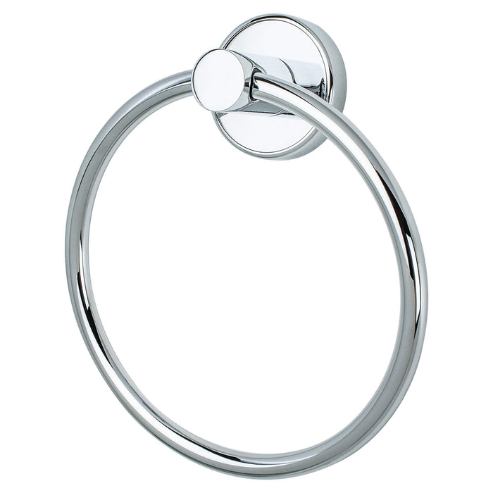 R. Christensen RC-2211US26 Effortless Elegance - Bathroom Polished Chrome Towel Ring - Knob Depot
