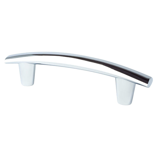 Berenson Meadow 96mm Pull Polished Chrome 2294-4026-P - KnobDepot.com