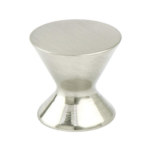 Berenson B-2360-1BPN Domestic Bliss Brushed Nickel Round Knob - KnobDepot.com