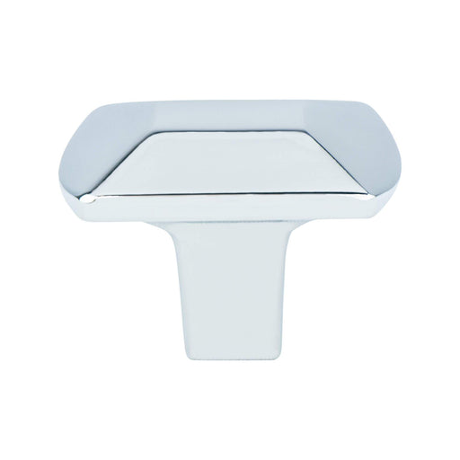 Berenson B-4090-1026 Laura Polished Chrome Rectangular Knob - KnobDepot.com