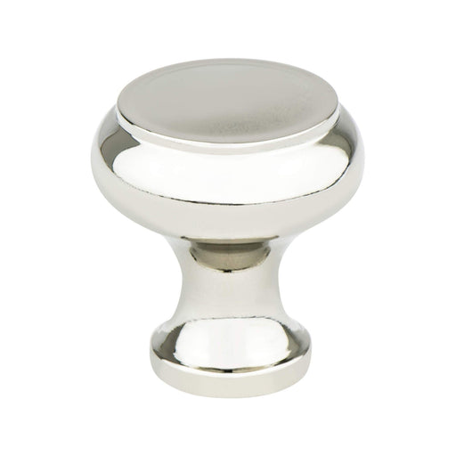 Berenson B-4150-1014 Designers Group 10 Polished Nickel Round Knob - KnobDepot.com