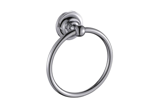 Paradise Bathworks P-63026 Elysium Chrome Towel Ring - Knob Depot