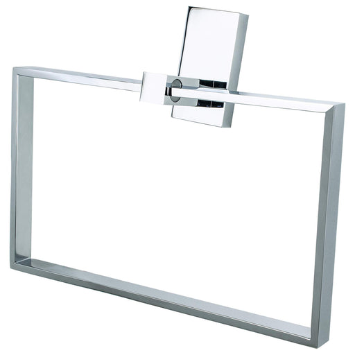 R. Christensen RC-6311-3026 Urban Edge - Bathroom Polished Chrome Towel Ring - Knob Depot