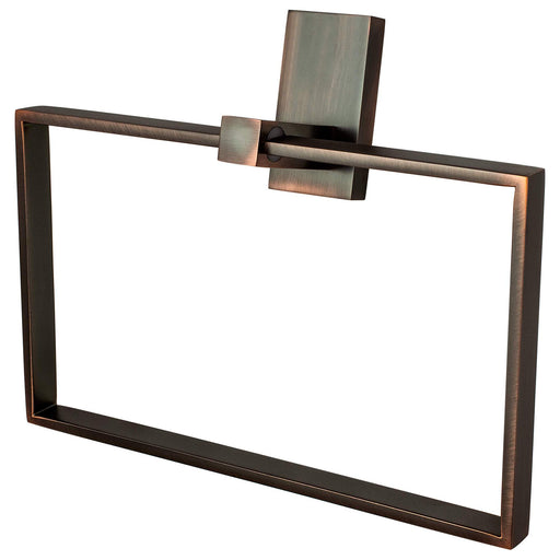 R. Christensen RC-6311-30VB Urban Edge - Bathroom Verona Bronze Towel Ring - KnobDepot.com
