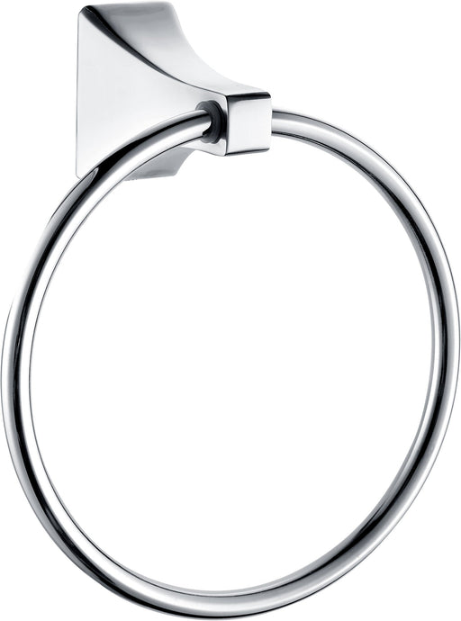 Paradise Bathworks P-64026 Shangri-La Chrome Towel Ring
