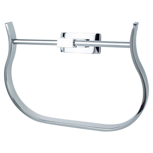 R. Christensen RC-6511-3026 Curve Appeal - Bathroom Polished Chrome Towel Ring - Knob Depot