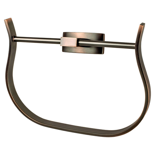 R. Christensen RC-6511-30VB Curve Appeal - Bathroom Verona Bronze Towel Ring - Knob Depot