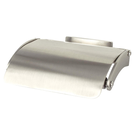R. Christensen RC-6519-3BPN Curve Appeal - Bathroom Brushed Nickel Toilet Tissue Holder - Knob Depot