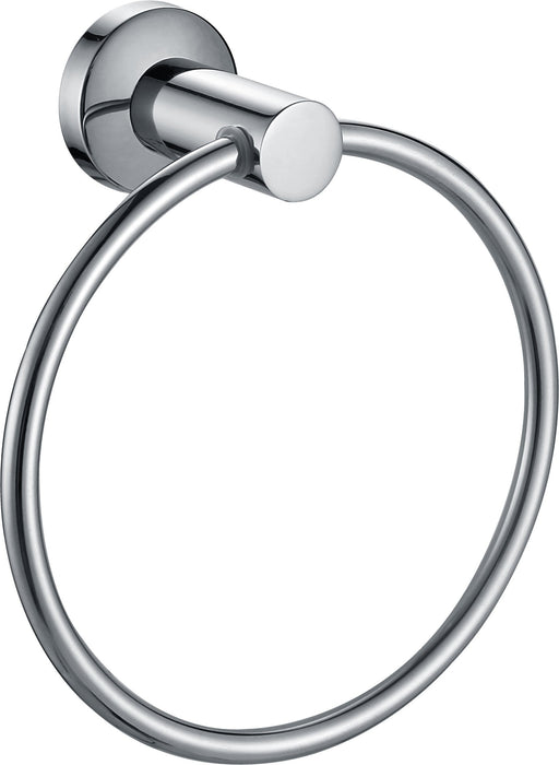 Paradise Bathworks P-66026 Nirvana Polished Chrome Towel Ring - Knob Depot