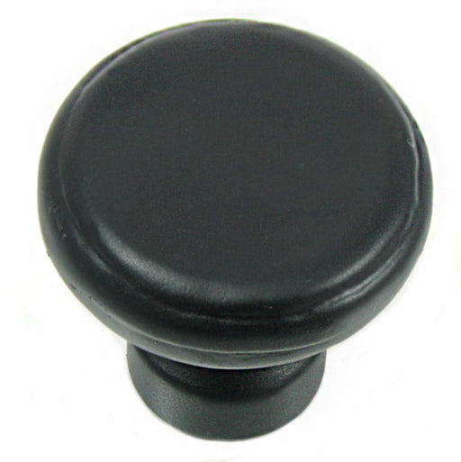 MNG Hardware M-84313 The Riverstone Collection Oil Rubbed Bronze Round Knob - Knob Depot