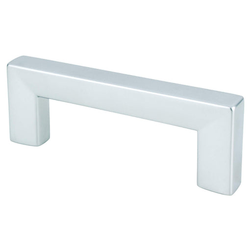 R. Christensen RC-9292-10DC Square Dull Chrome Square D Handle - KnobDepot.com