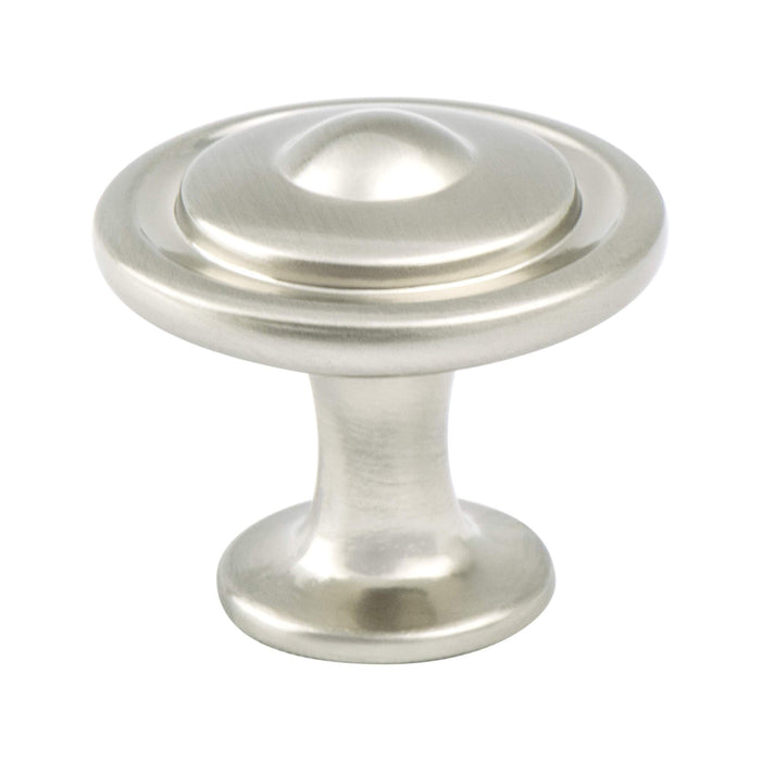 Berenson B-9381-1BPN Advantage Plus 5 Brushed Nickel Round Knob - Knob Depot