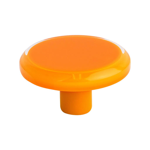 R. Christensen RC-9785-7000 Next Orange Transparent Round Knob - Knob Depot