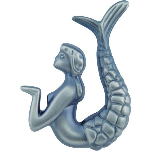 Atlas Homewares AT-190R-P  Sea Pewter Right Mermaid Knob - KnobDepot.com