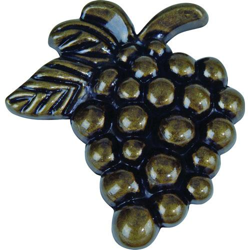 Atlas Homewares AT-2173-BB  Fruit Burnished Bronze Grapes Knob - KnobDepot.com