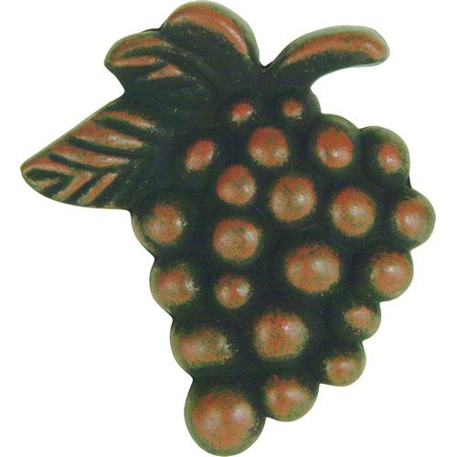 Atlas Homewares AT-2173-R  Fruit Rust Grapes Knob - KnobDepot.com