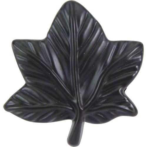 Atlas Homewares AT-2203-O  Leaf Aged Bronze Leaf Knob - KnobDepot.com