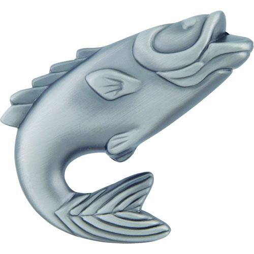 Atlas Homewares AT-2204-NO  Fish Pewter Fish Knob - KnobDepot.com