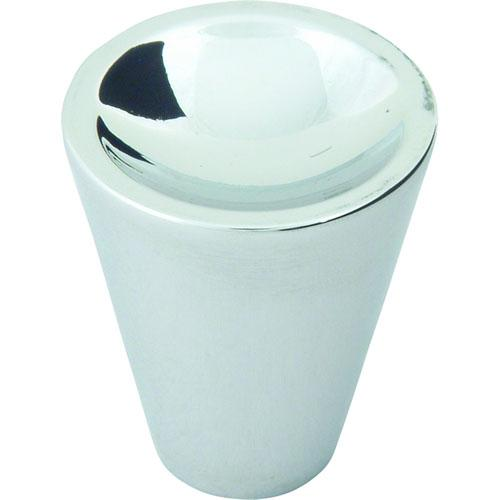 Atlas Homewares AT-228-CH  Dap Modern Polished Chrome Cone Knob - KnobDepot.com