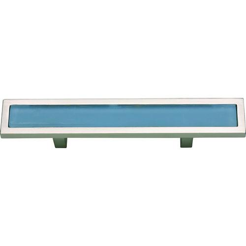 Atlas Homewares AT-231-BLU-BRN  Spa Brushed Nickel Standard Pull - KnobDepot.com