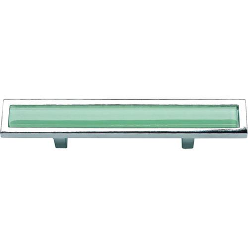 Atlas Homewares AT-231-GR-CH  Spa Polished Chrome Standard Pull - KnobDepot.com